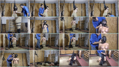 Taylor Plus Leather Equals Fun part 2 - Extreme, Bondage, Caning