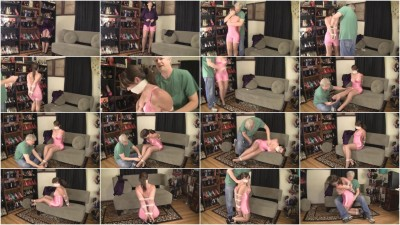Elizabeth Andrews - Bound In A Shiny Pink Girdle