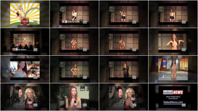 More stand-up comedy with the naked ladies
