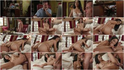 Maya Bijou -Daddy Cums To Help Maya
