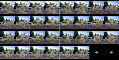 Jenna Gargles Outside For A Ride! 3D