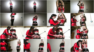 Hard bondage, domination and torture for hot young girl (part 1)