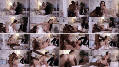 Interracial Wedding Night Cuckold — Dana DeArmond