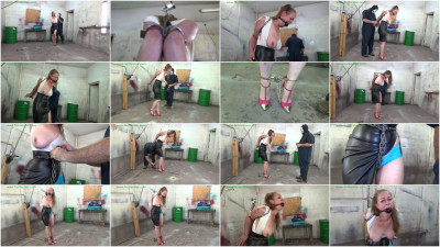 Hunterslair - Pepper Sterling - Steel bound in cuffs and chains