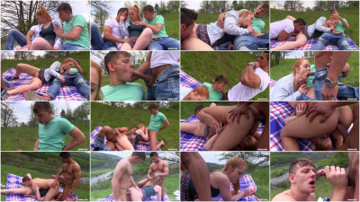 Bimaxx - Great bisex time with sweet redhead - watch, fresh, red