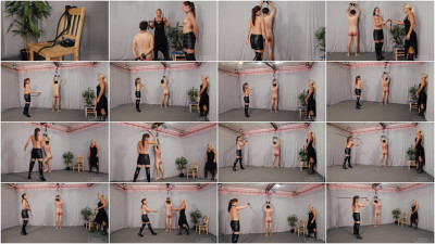 Anette & Zita - Punishment In stitutionX part 2 - gets, women, tied!