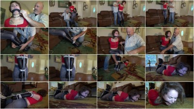 HunterSlair - Bailey Paige - Petite brat hogtied in her skin tight jeans