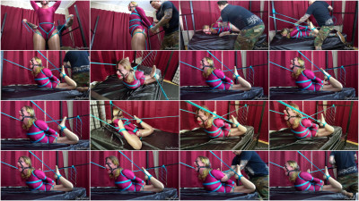 Fayth On Fire - Strict Backarch Hogtie