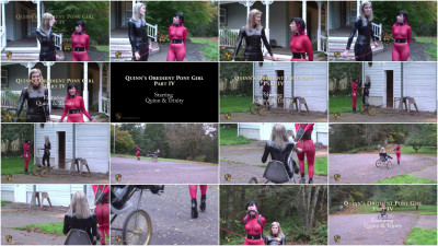 Quinn's Obedient Pony Girl — Part IV