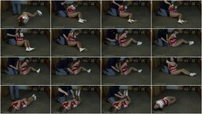 Rachel Adams - Cheerleader Bound In Speaker Wire And Struggling Pt 2