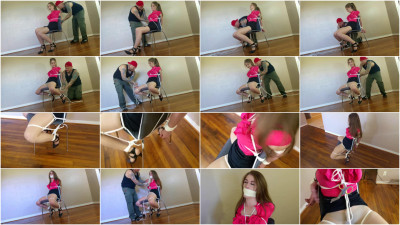 Terra Mizu - Solicitor Gets Chairtied And Fondled