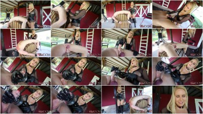 Vanessa Painful Milking Day For Slave