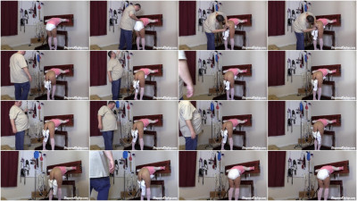 Lolly Enema in Pillory