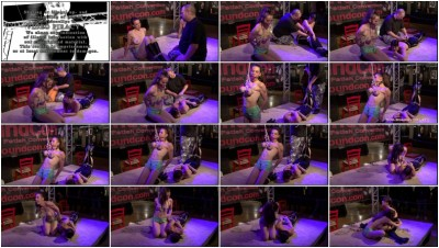 BreastsInPain - Slave Eva Yvette is hanging at my Breasts 001