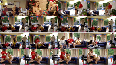 Rosalyn Sphinx, Whitney Wright — Fourth Of July Family Fuck