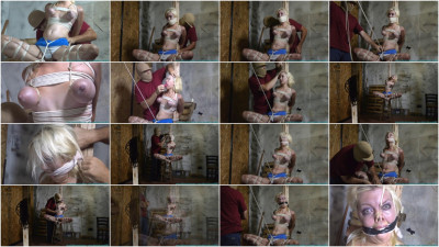 Torments his Blonde Blue Eyed Captive - Part 2