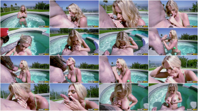 Rachael Cavalli — Triple Ds Poolside Blowjob FullHD 1080p