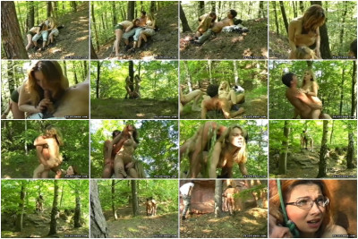 Abuse In The Woods - PainVixens