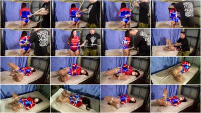 SBound — Nyssa Nevers.. Spidergirl in Rope Bondage