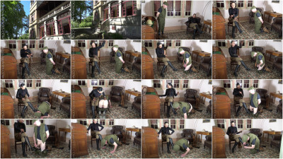 Madame Catarina - Safari Caning Scene 1