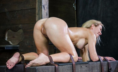 Pretty perfect blonde porn star fuck on doggy style