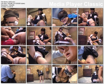 Little hot Japanese slave and her wet pussy