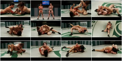 Spanish wrestlers 1st US match. Takes on our 2nd ranked wrestler - Winner decided by only 15pts!