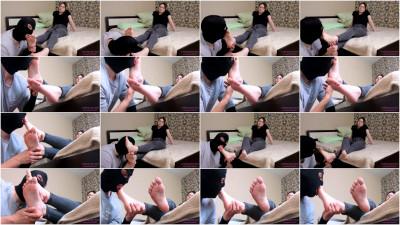 Nataly - Licking Her Beautiful Feet