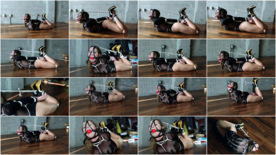 Chrissy Marie - Harnessed & Hogtied Part 1