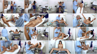Francys Belle (33 years girl gyno exam)