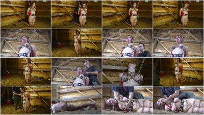Barnyard Bondage for Riley Jane - Her Ordeal Continues - Part 3