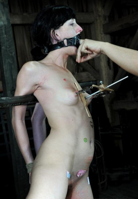Some heavy voltage through her nipples