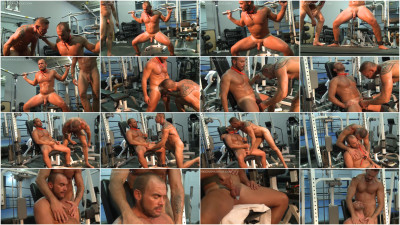 Bound Muscle - Gym Training Torture Part 9