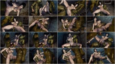 XXX 3D Secret of Beauty Orc Ritual