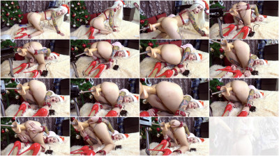 X-Mas Edition Double Anal Creampie — Full HD 1080p