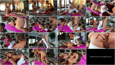 DirtyMasseur — Mia Malkova White Yoga Pants Remastered