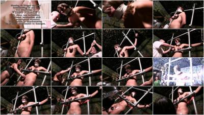 Electro Torture Orgasm & Breast Torment For Sexy Saskia