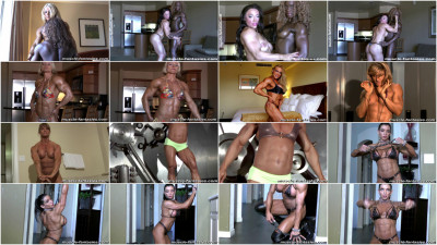 Muscle Fantasies - Sexy Muscular Female Models(2010-2013)