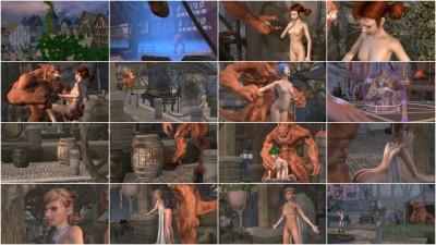 Stone Sorceress - Demon Depravity.