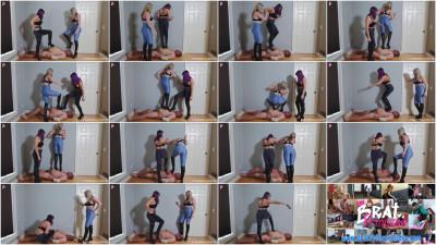 Kaylie And Natalya - Trample Hell Heel