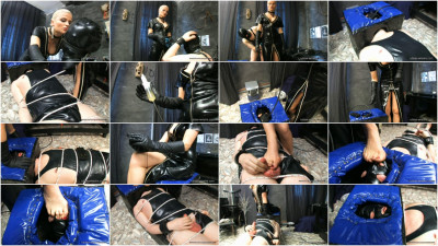 Lady Isis - Rubber Mumification Part 1