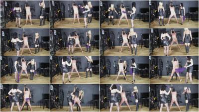 Mistress Nikki Whiplash - Flogged Douchebag Slave