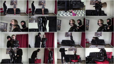 Microfoam Gag and Frogtied Struggling - Full HD 1080p