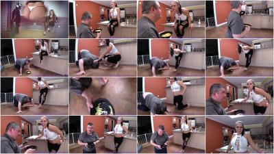 Natalya And Lola - Food And Spit Humiliation