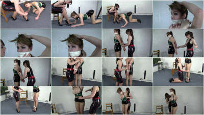 Candle Boxxx and Elizabeth Andrews : Day Dreaming at the Office 21