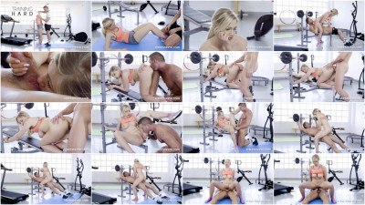 Gabi Gold — Teen Fucked At The Gym HD 720p
