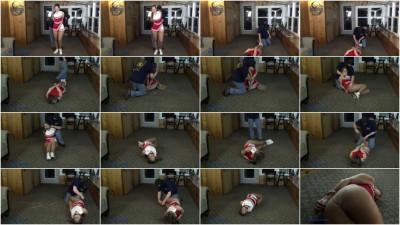 Rachel Adams - Cheerleader Bound In Speaker Wire And Struggling Pt 1