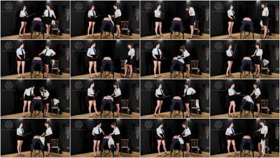 Mistress Whiplash - 100 Stroke Judicial Caning Part 2