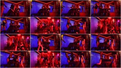 Cybill Troy, Mistress Opium - Strap-On Spitroast