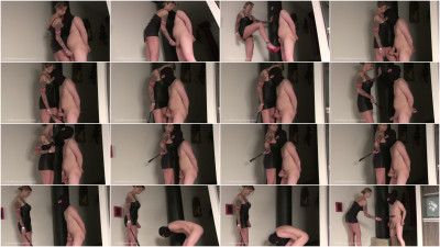 Domina Hera - Jerked Off By Whipping!